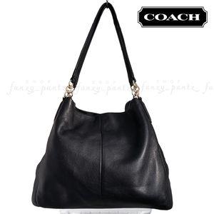 Coach Phoebe Pebbled Leather Shoulder Bag F35723